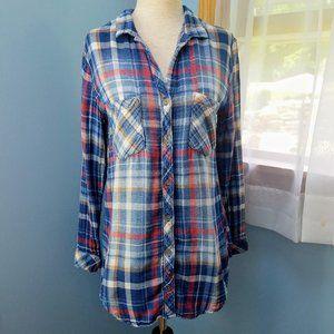 Cloth & Stone Plaid Flannel Shirt